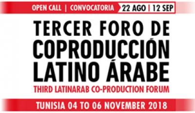 CONVOCATORIA 3º FORO DE COPRODUCCIÓN LATINO ÁRABE